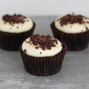 Cupcakerij Cupcake Chocolade - Vanille