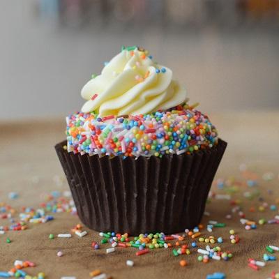 Sprinkel Cupcakes Regenboog