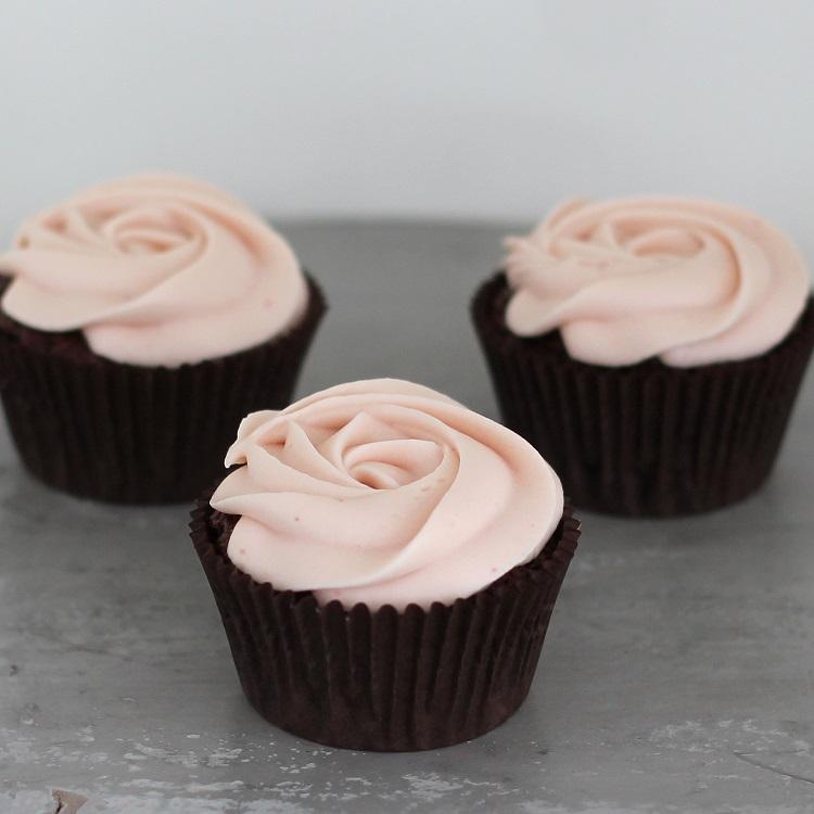 Cupcakerij Cupcake Chocolade Framboos