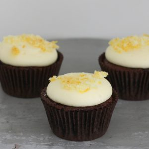 Cupcakerij Cupcake Chocolade Sinaasappel