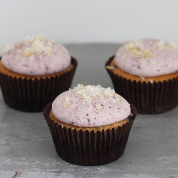 Cupcakerij Cupcake Citroen Blauwe Bes