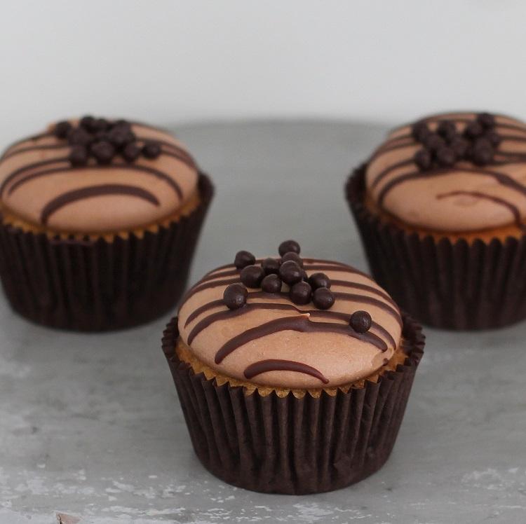 Cupcakerij Cupcake Vanille Chocolade