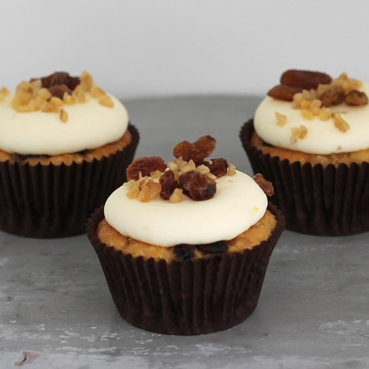 Cupcakerij Cupcake Walnoot - Rozijn