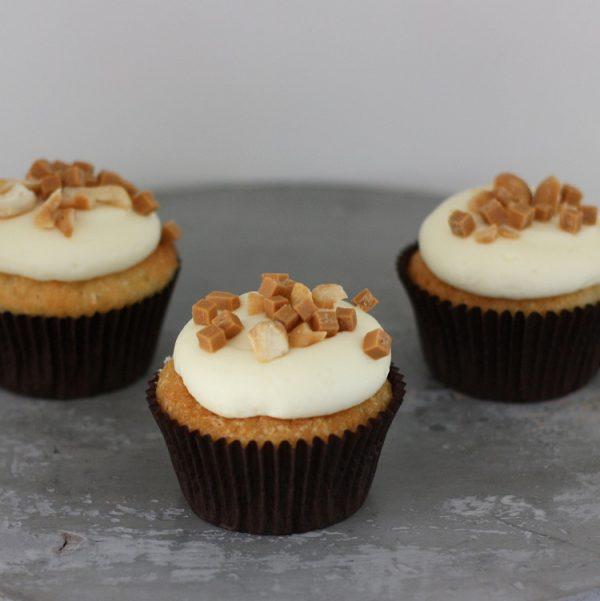 Cupcakerij Cupcake Banaan - Cashew Toffee