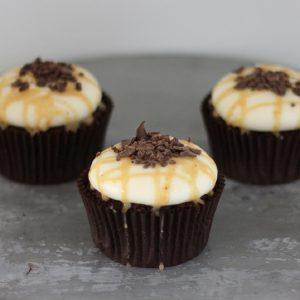 Cupcakerij Cupcake Chocolade - Pindakaas