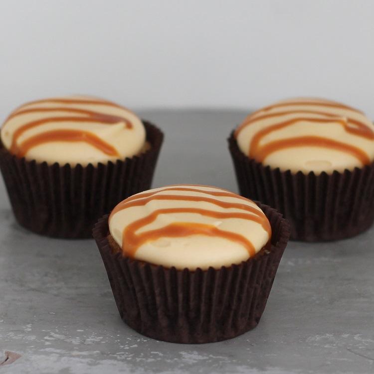Cupcakerij Cupcake Vanille - Karamel